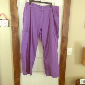 Light Purple Woman Within Pants - Size 20WP